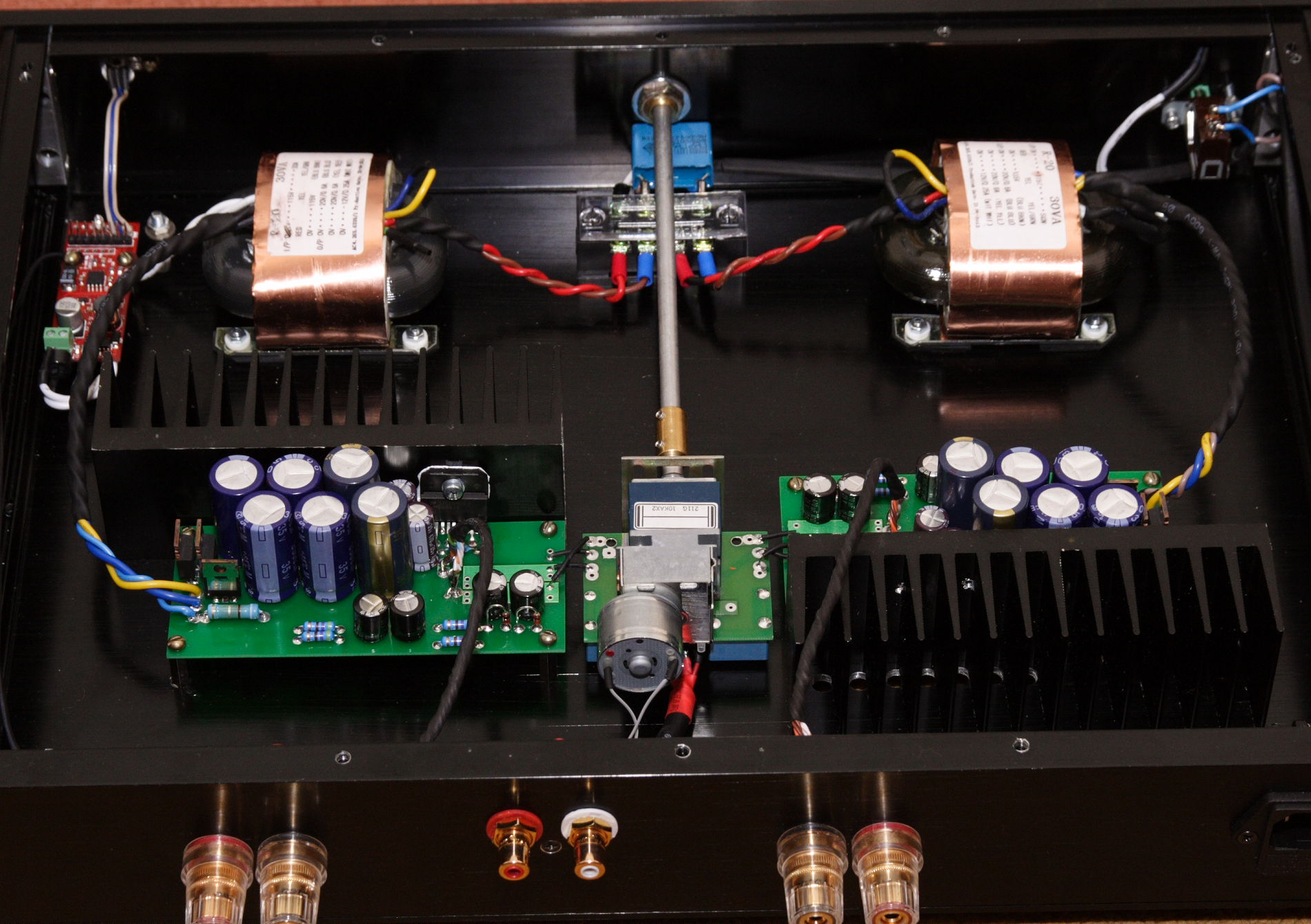 audiomaniac amp1 assembled view